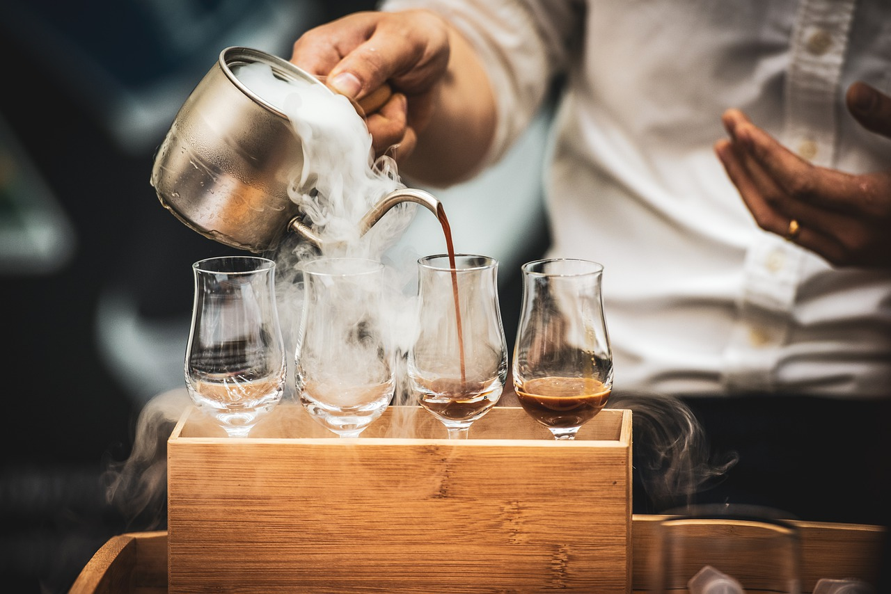 barista, café, torrencial