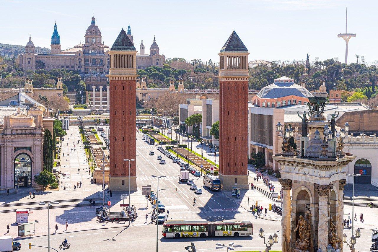 viajes, barcelona, ciudad