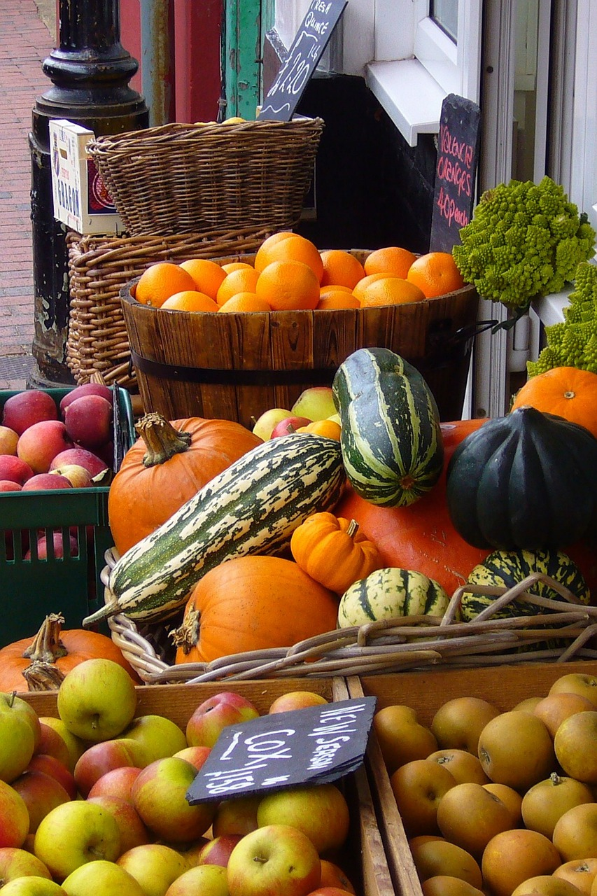 frutas y vegetales, frutería, verduras
