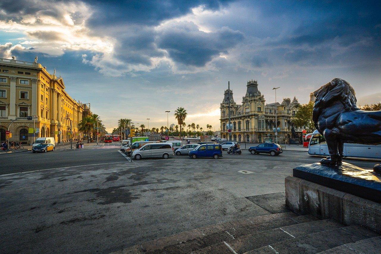 barcelona, mañana, españa