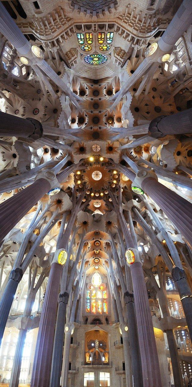 arquitectura, catedral, sagrada familia