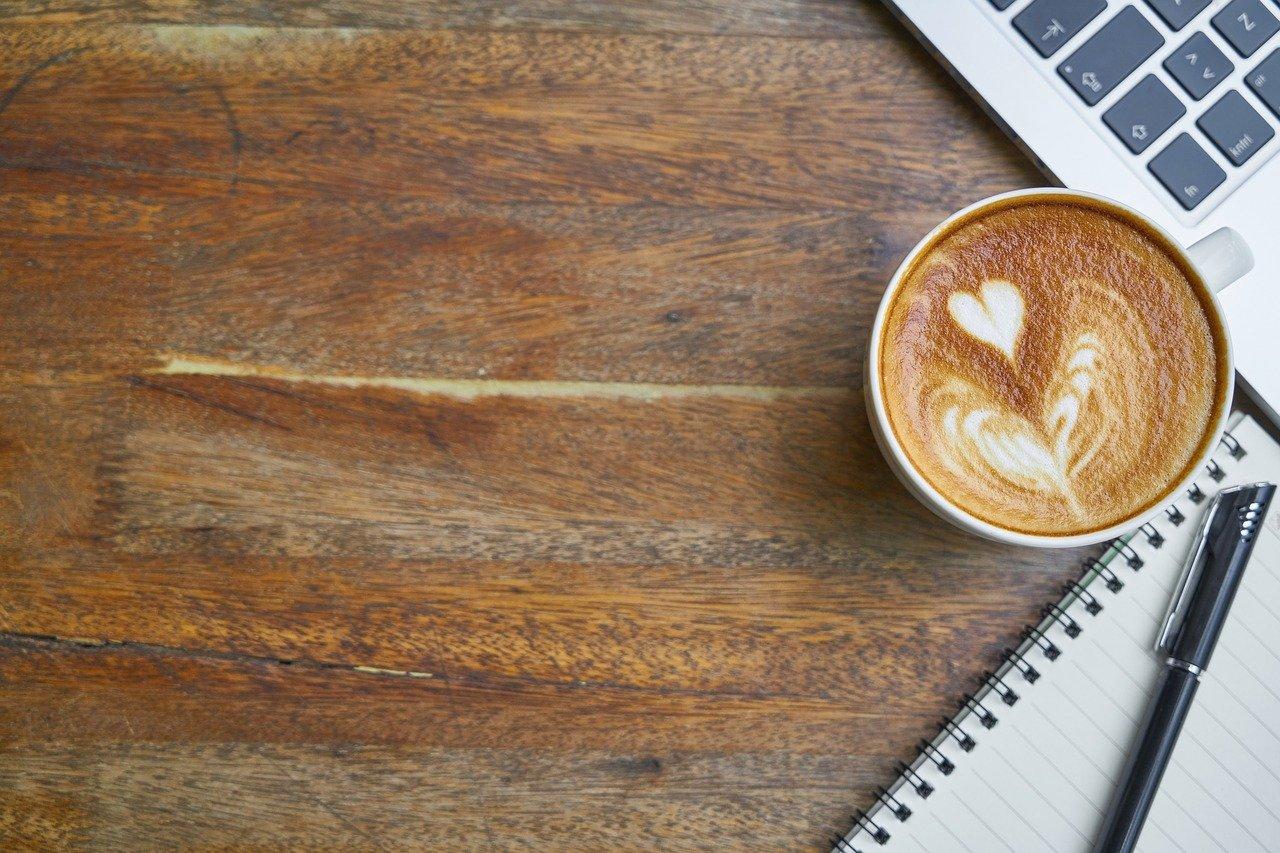 café, espacio de trabajo, cafetería