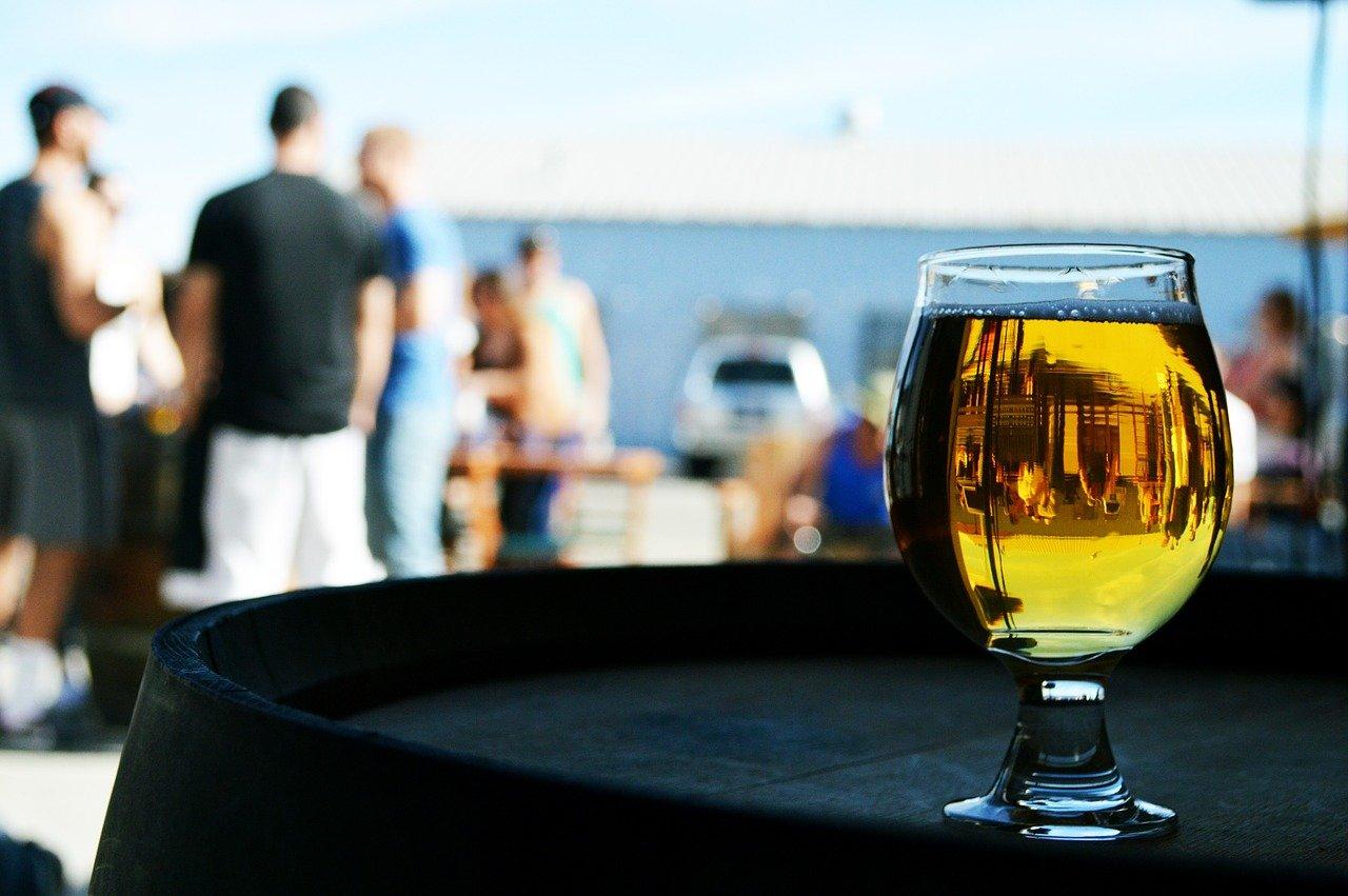 cerveza, bebida, beber