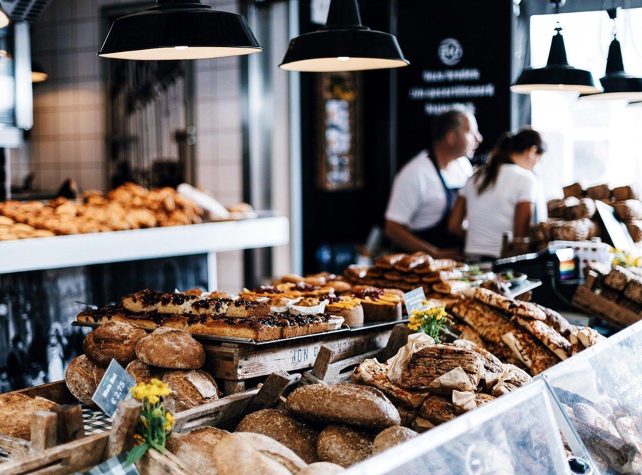 panadería, panes, clasificado
