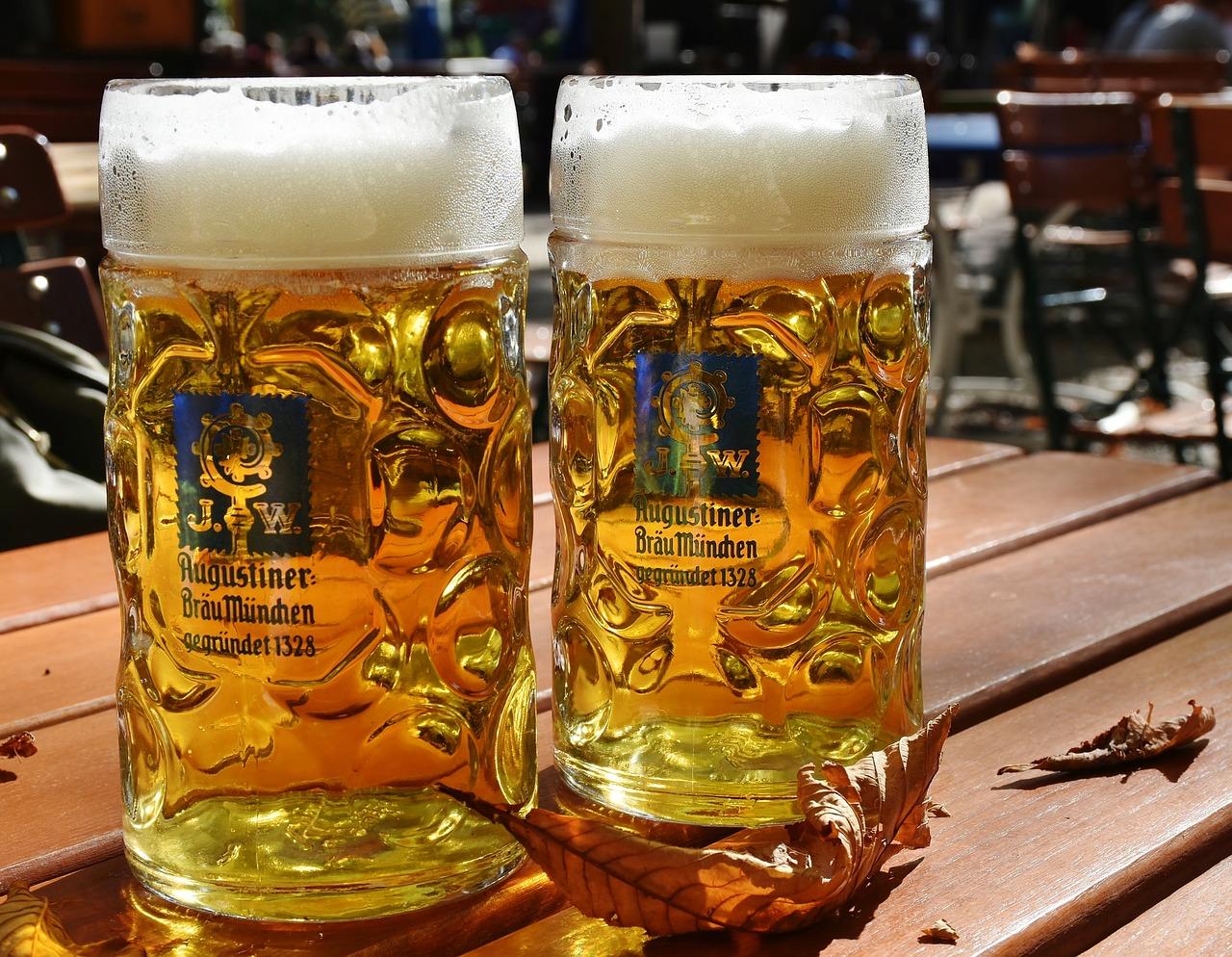 cerveza, medir cerveza, jarro de cerveza