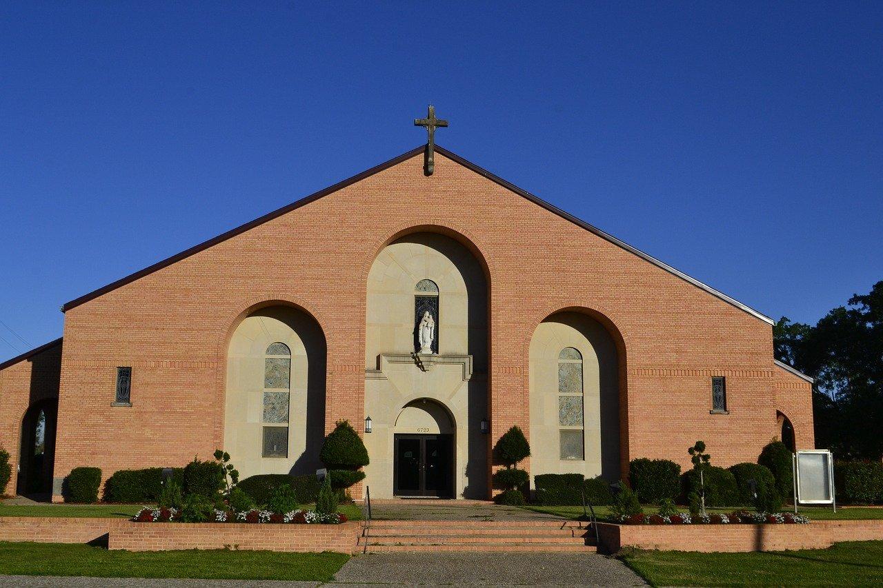 iglesia, religión, houston