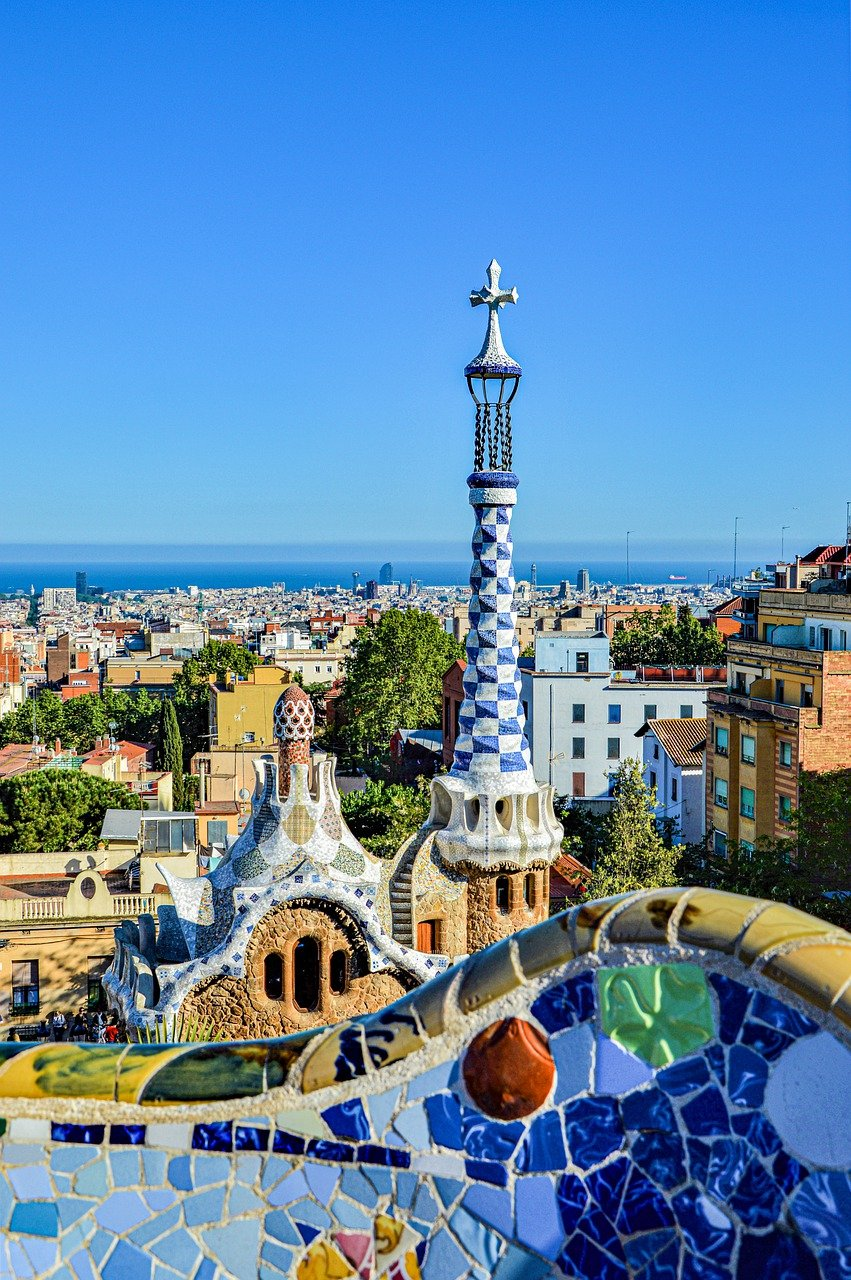 gaudi, barcelona, centro historico
