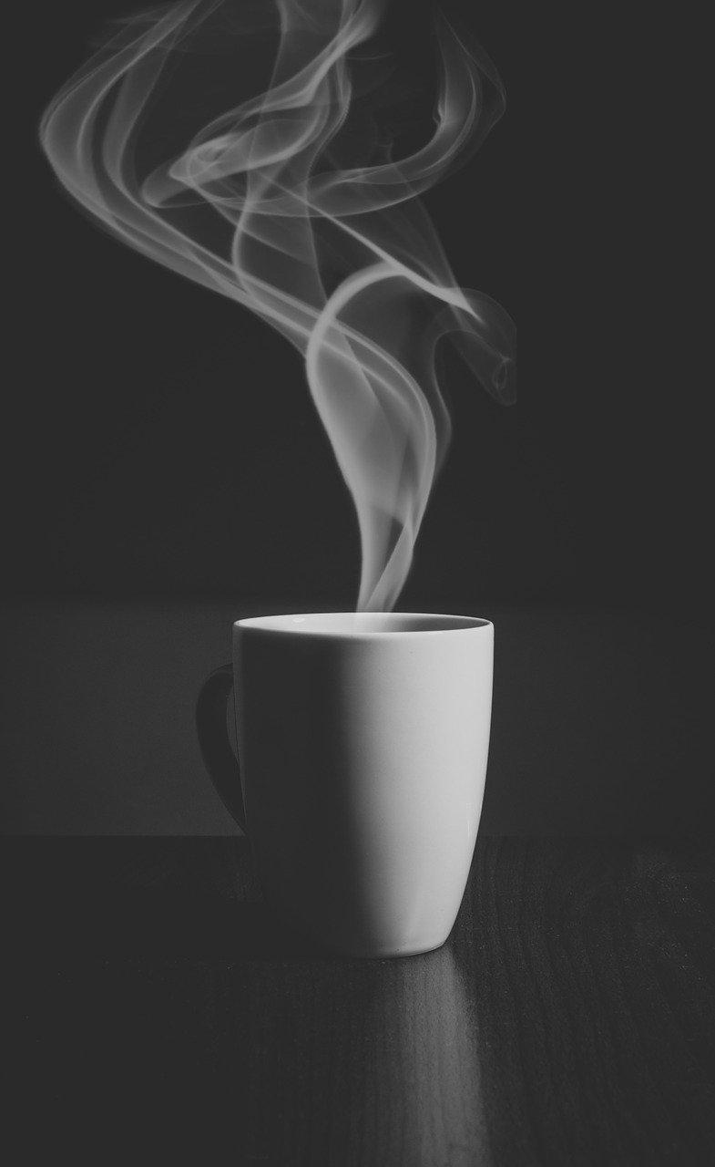 café, moca, café exprés