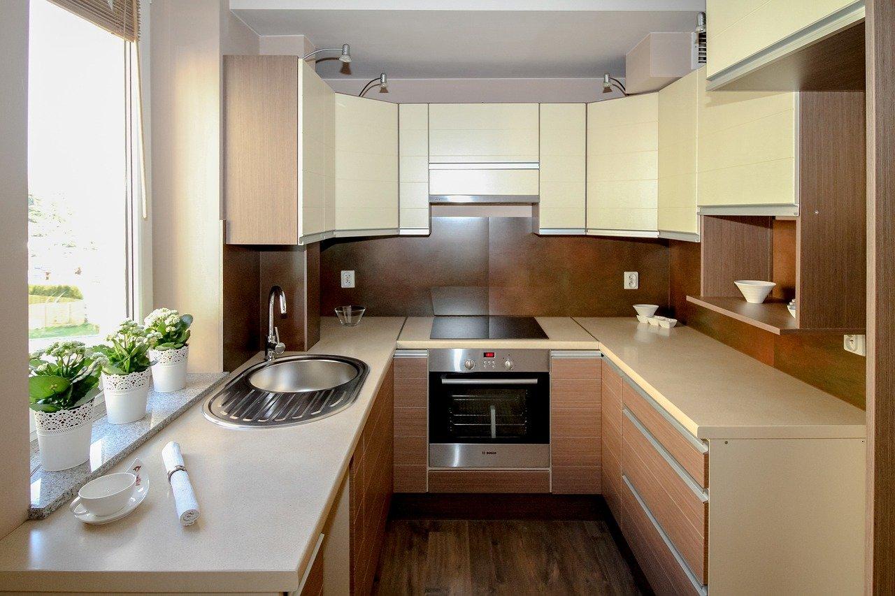 cocina, cocina pequeña, departamento