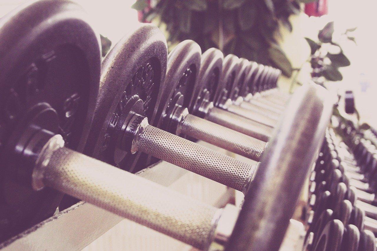 aptitud física, mancuernas, formación