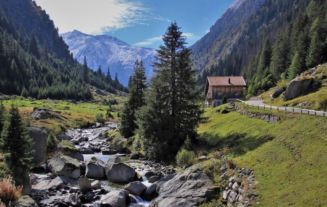 rocas, el paisaje de montañas, valles de montaña