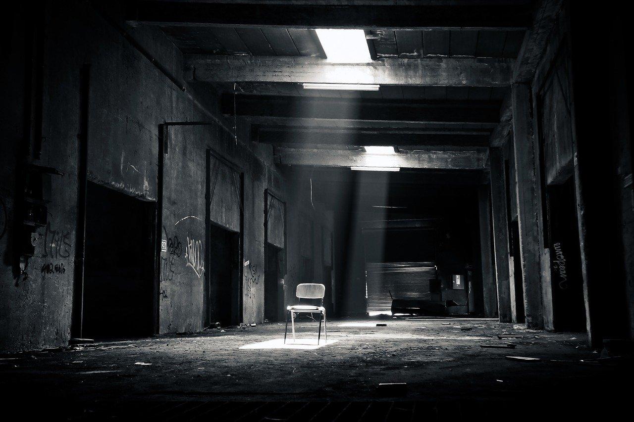 lugares perdidos, viejo, decaer