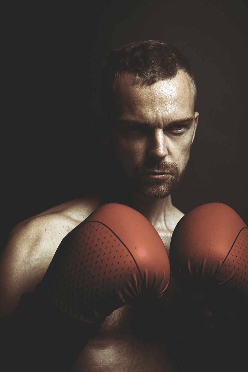 boxeo, caja, lucha