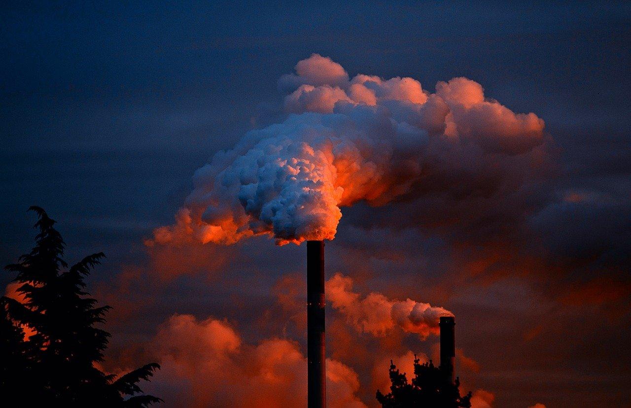 fumar, chimenea, contaminación