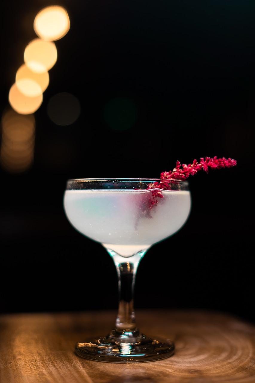 beber, cóctel, vidrio