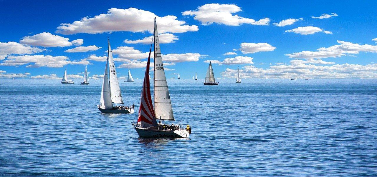 barco de vela, navegar, lago de constanza
