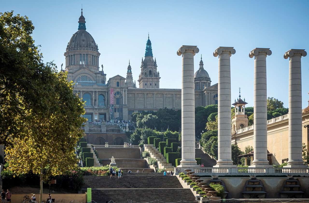 museo, arquitectura, museo nacional de arte de cataluña