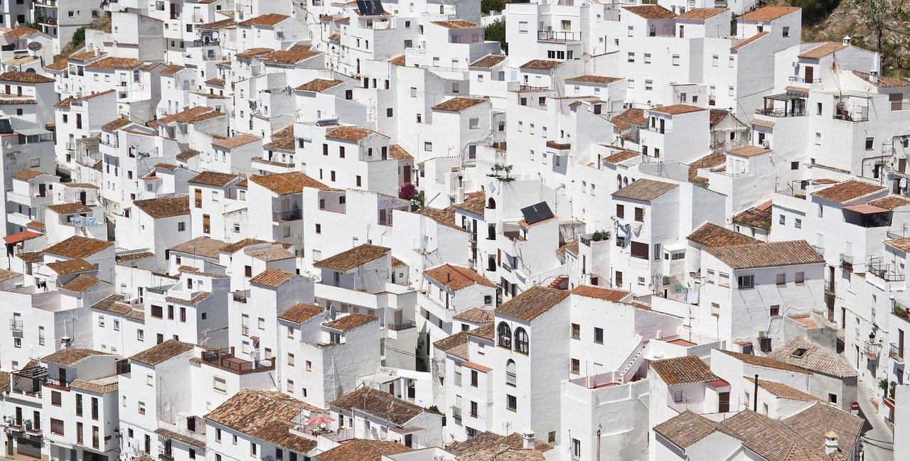 edificios, arquitectura, edificios blancos