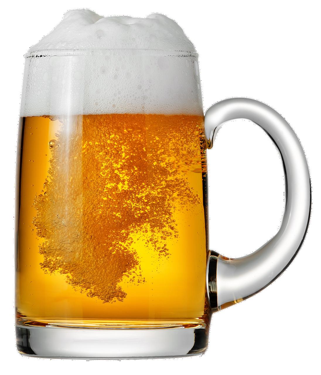 cerveza, jarro de cerveza, espuma