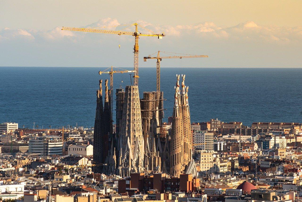 barcelona, sagrada familia, españa