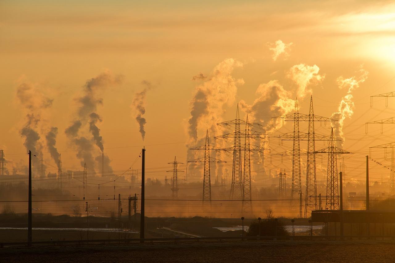 industria, contaminación ambiental, smog