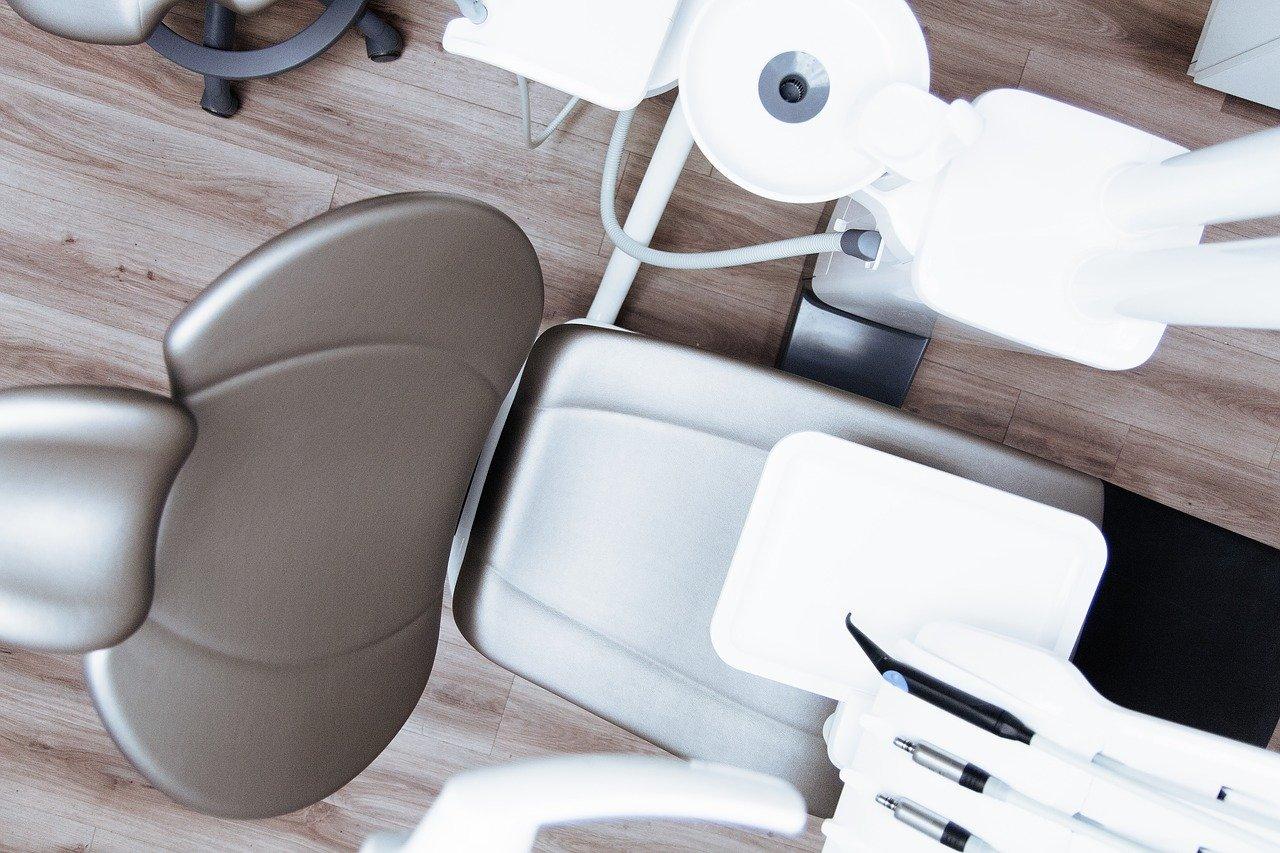 dentista, silla dental, clínica