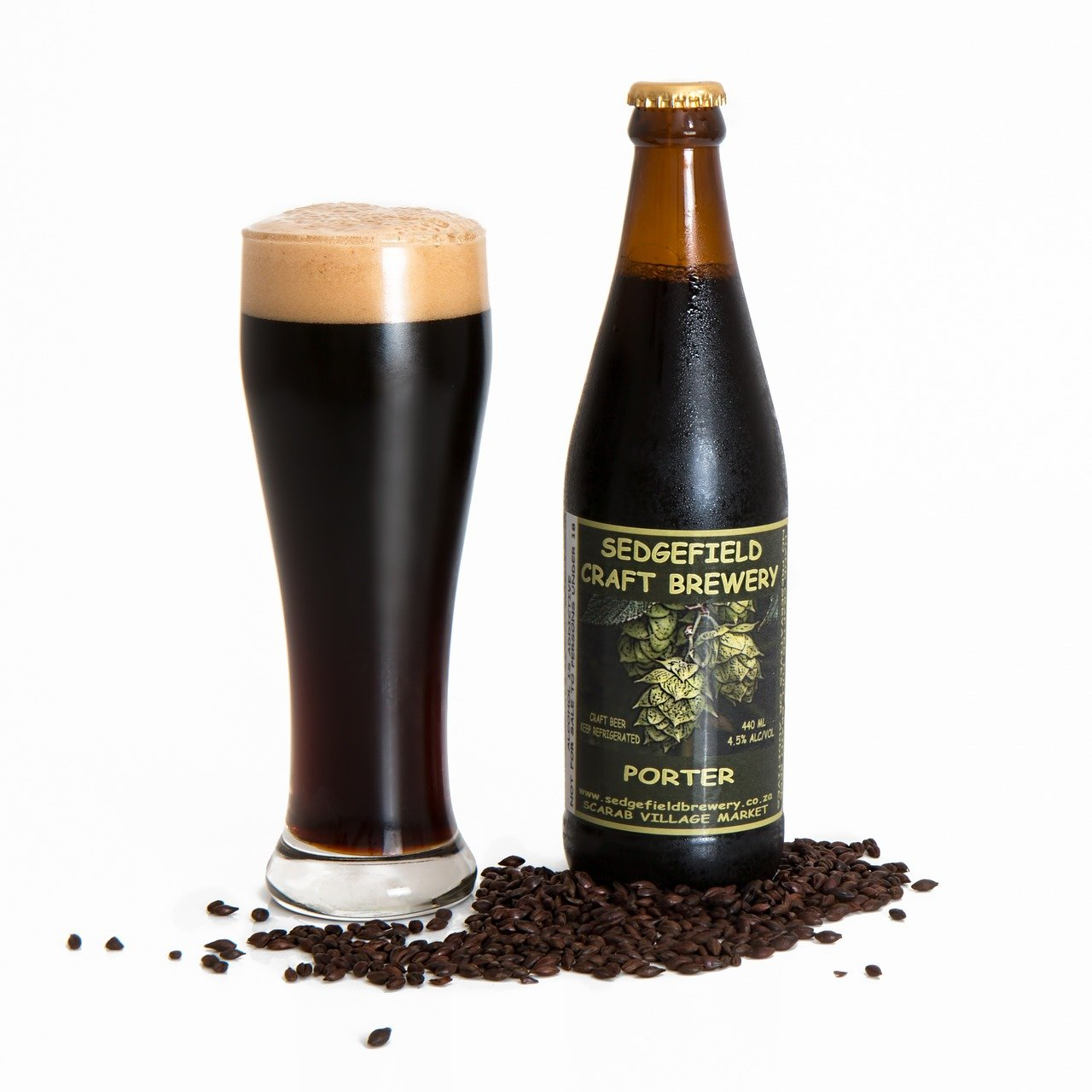 cerveza artesanal, cerveza negra, porter