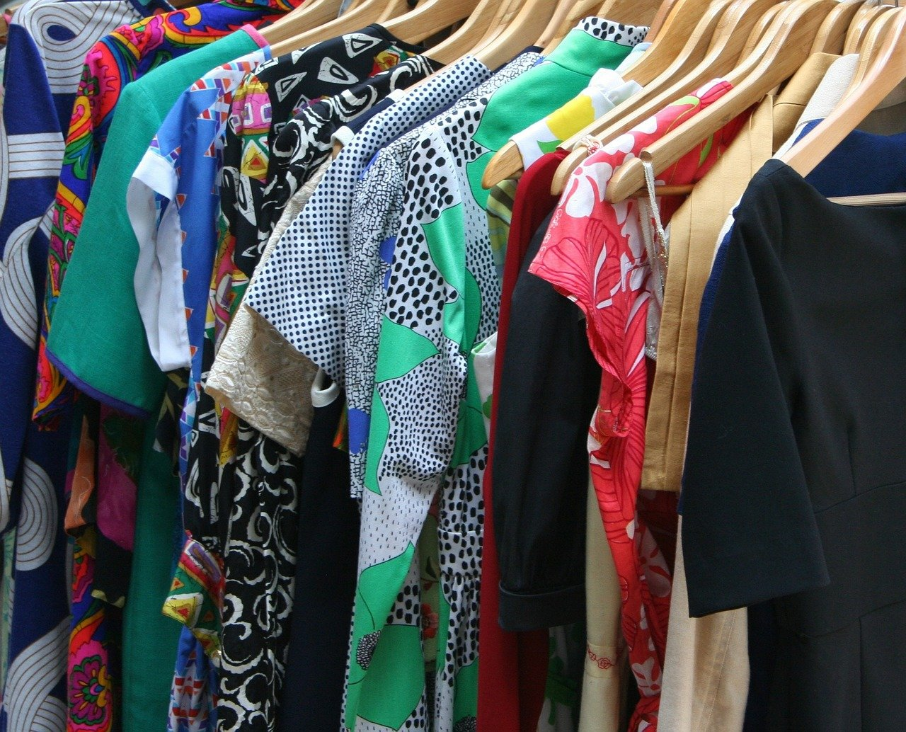 vestidos, vestir, ropa