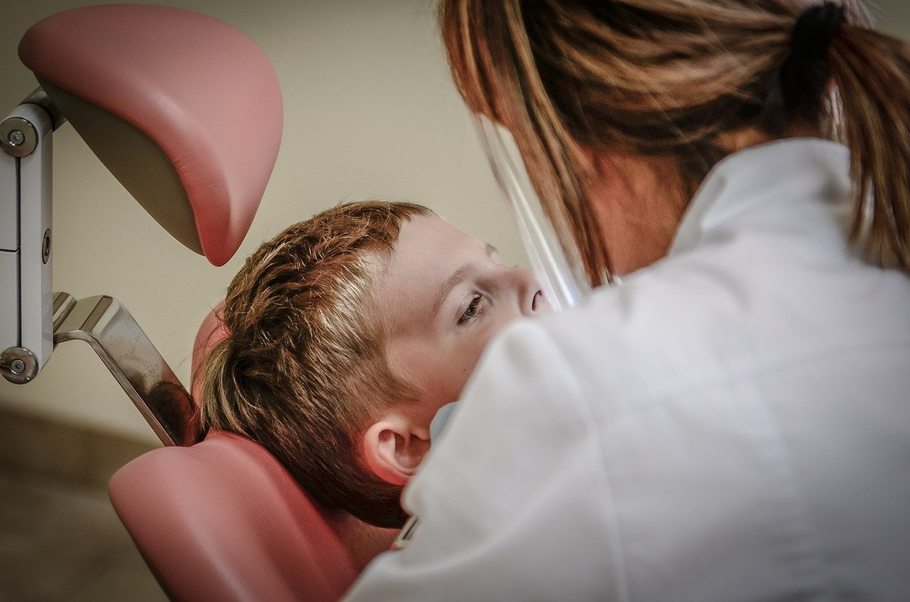 dentista, cuidado dental, paciente