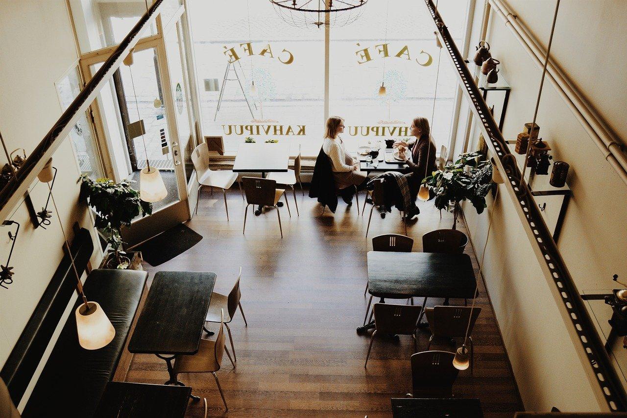 cafetería, restaurante, bar