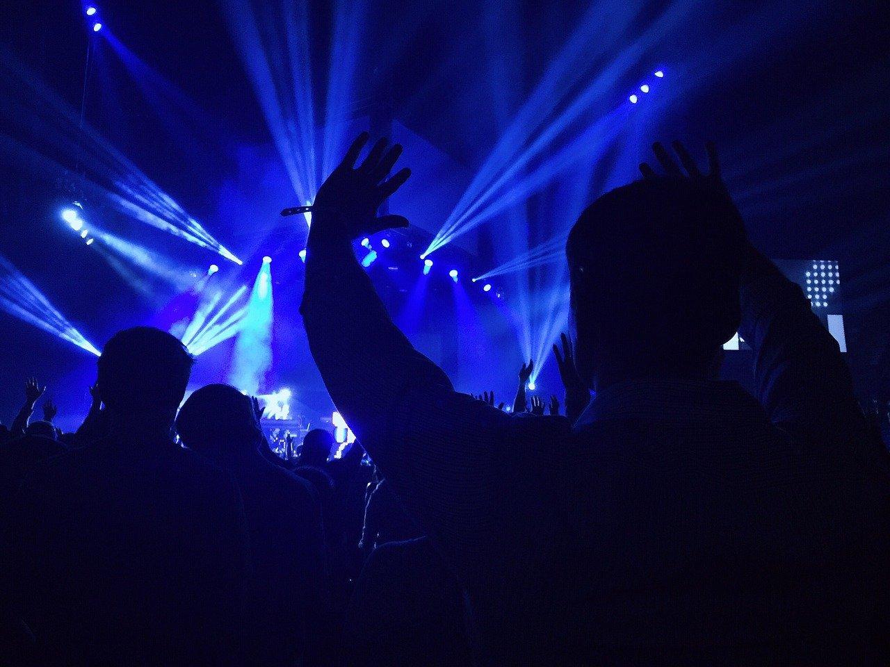 concierto, rendimiento, entretenimiento