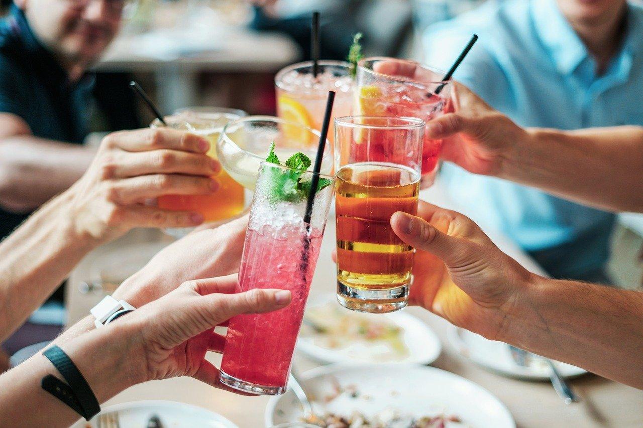bebidas, alcohol, cócteles